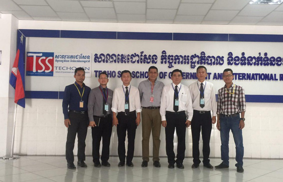 Visit of Representatives of the Embassy of the Kingdom of Thailand to the University of Cambodia