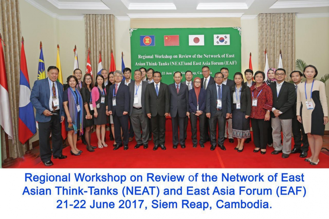 Regional Workshop on Review of the Network of East Asian Think-Tanks (NEAT) and East Asia Forum (EAF)Regional Workshop on Review of the Network of East Asian Think-Tanks (NEAT) and East Asia Forum (EAF)