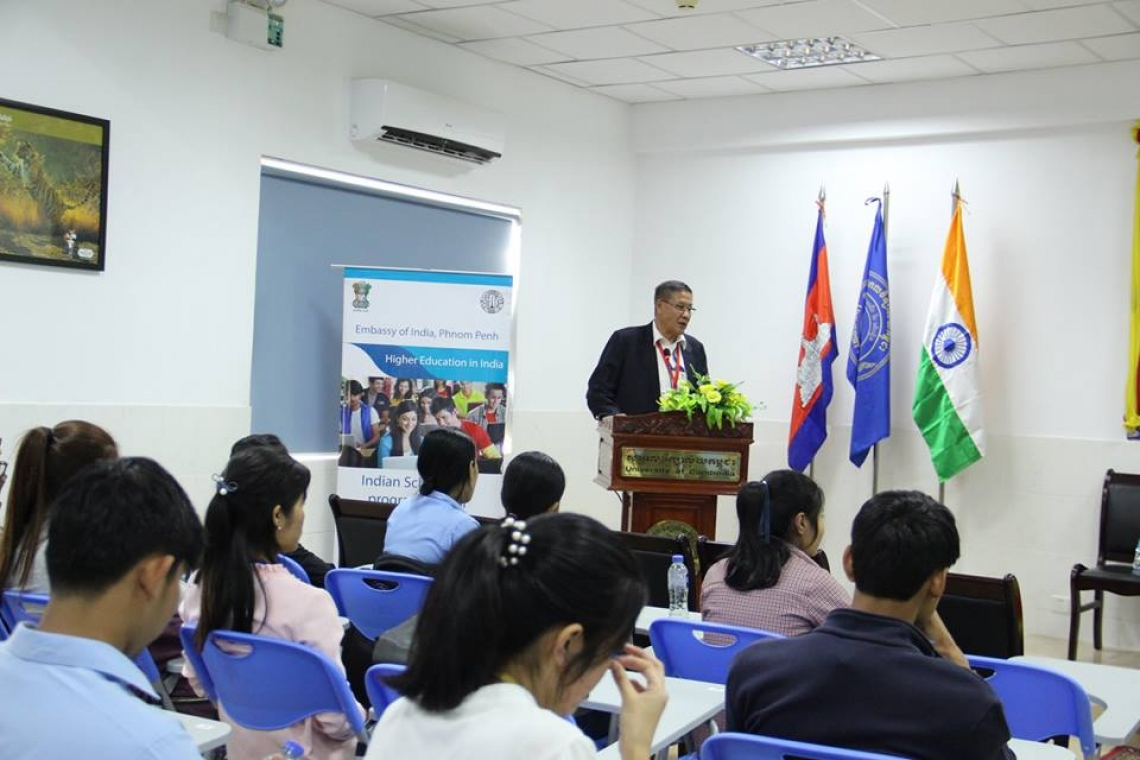 Cambodia - India Scholarship Awareness Forum